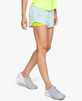 Women's UA Qualifier Speedpocket 2-in-1 Shorts